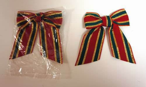 Buy wholesale small fabric christmas bow cheap h j