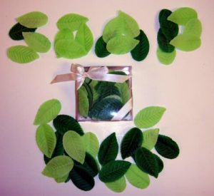 Beautiful Leaf Soap Petals