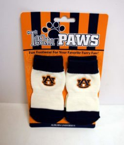 Auburn University (Pack of 4) Dog Socks - Assorted Sizes