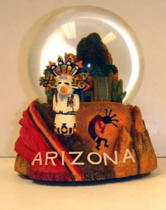 Arizona Musical Glass Waterglobe
