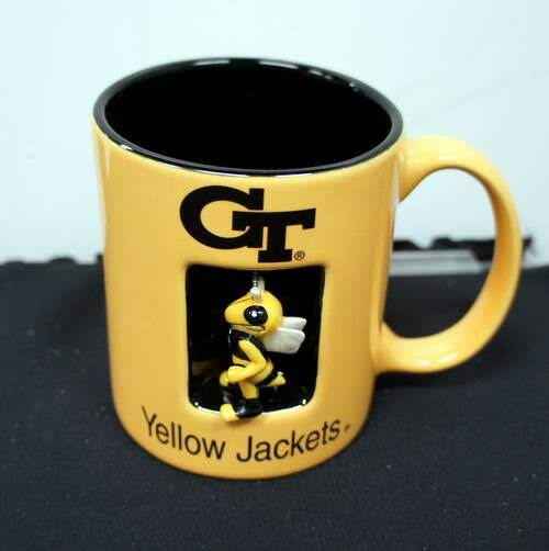 Licensed Georgia Tech University 12 Oz. Spinner Mug