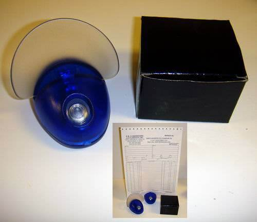 Buy Wholesale Blue Plastic Desk Accessory Paper Holder