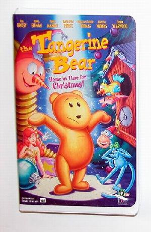 Tangerine Bear VHS Tape