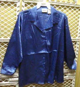 24 Per Case Women's Plus-Sized Apparel Name Brand Polyester Button-Down Blouse
