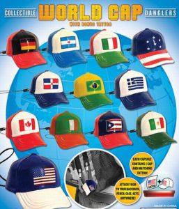 Closeout Merchandise World Cap Danglers