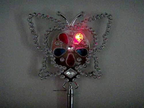 Buy wholesale light up led princess butterfly flashing for Led wands wholesale