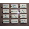 Wholesale Simply Said Ceramic Tile Gift Tags
