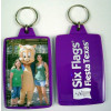 """Six Flags Fiesta Texas"" Picture Photo Frame Keychain"