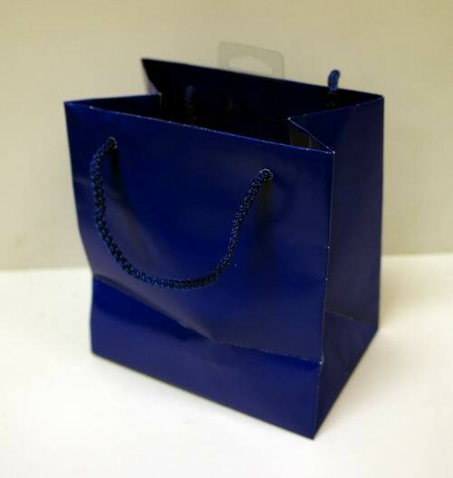 Wholesale American Greeting Small Solid Blue Gift Bag – 6″ x 5.5 ...