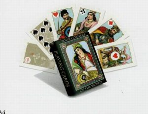 Fancy Four Corners of the World Deck of Playing Cards