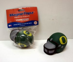 12 Per Case NCAA Oregon Ducks Foam helmet Super Magnet