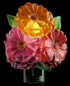 Jeweltone Zinnia Flower Trio Bouquet