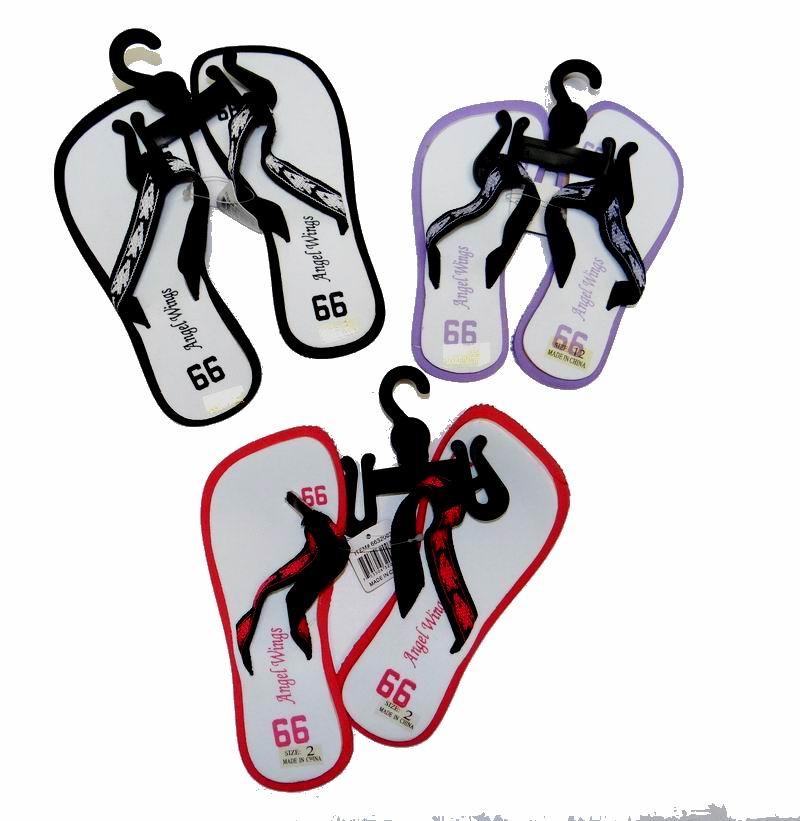 BULK LOT PRICE! - Fashion Girls Kids FLIP-FLOP Sandals - Assorted sizes (May have Minor Blemishes)