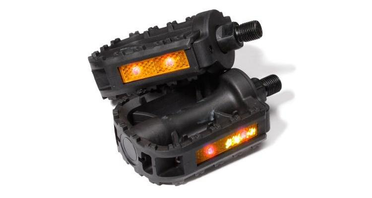 Deluxe - GlowSpek Safety LED Flashing Pedals (FOR 9/16 AXLE)