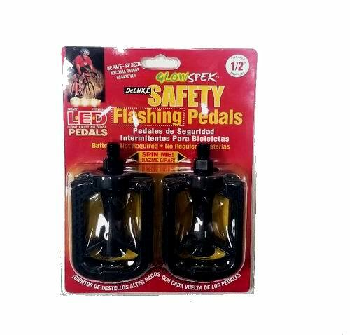 Deluxe - GlowSpek Safety LED Flashing Pedals (FOR 1/2 AXLE)