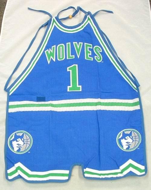 Licensed NBA Minnesota Timberwolves Apron