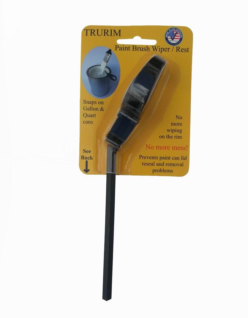 TRURIM PAINT Brush Wiper/Rest - Snaps onto Gallon and Quart Size PAINT Cans