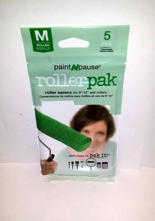 5 Pack PAINT n Pause PAINT Roller Saver for 9?  12? Wet Rollers Item# 71214-2