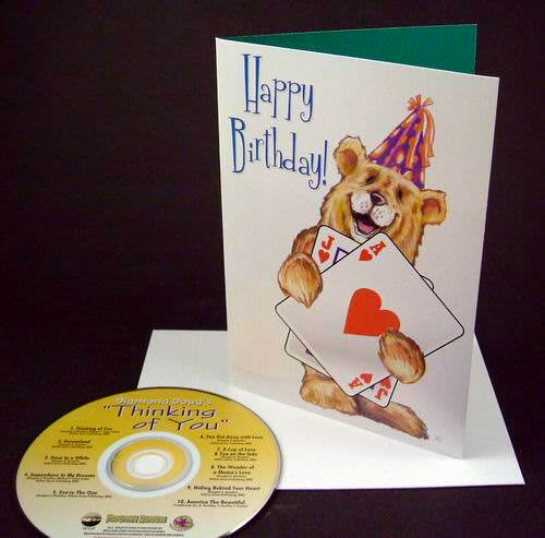 Buy Assorted Greeting Cards With A 10 Song CD Enclosed