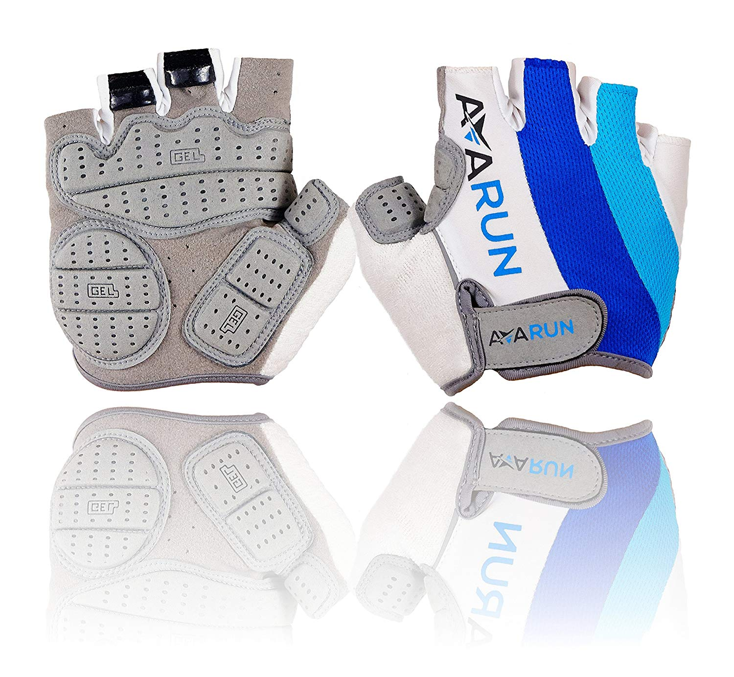 ''Avarun - Bike Gloves with resistant GEL PADS for mountain biking, cycling and riding - Size Small''