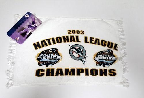 MLB Florida Marlins 2003 World Series Rally Hand Towel