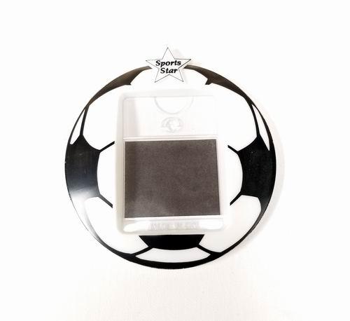 Sports Star Soccer Themed Photo Frame Magnet