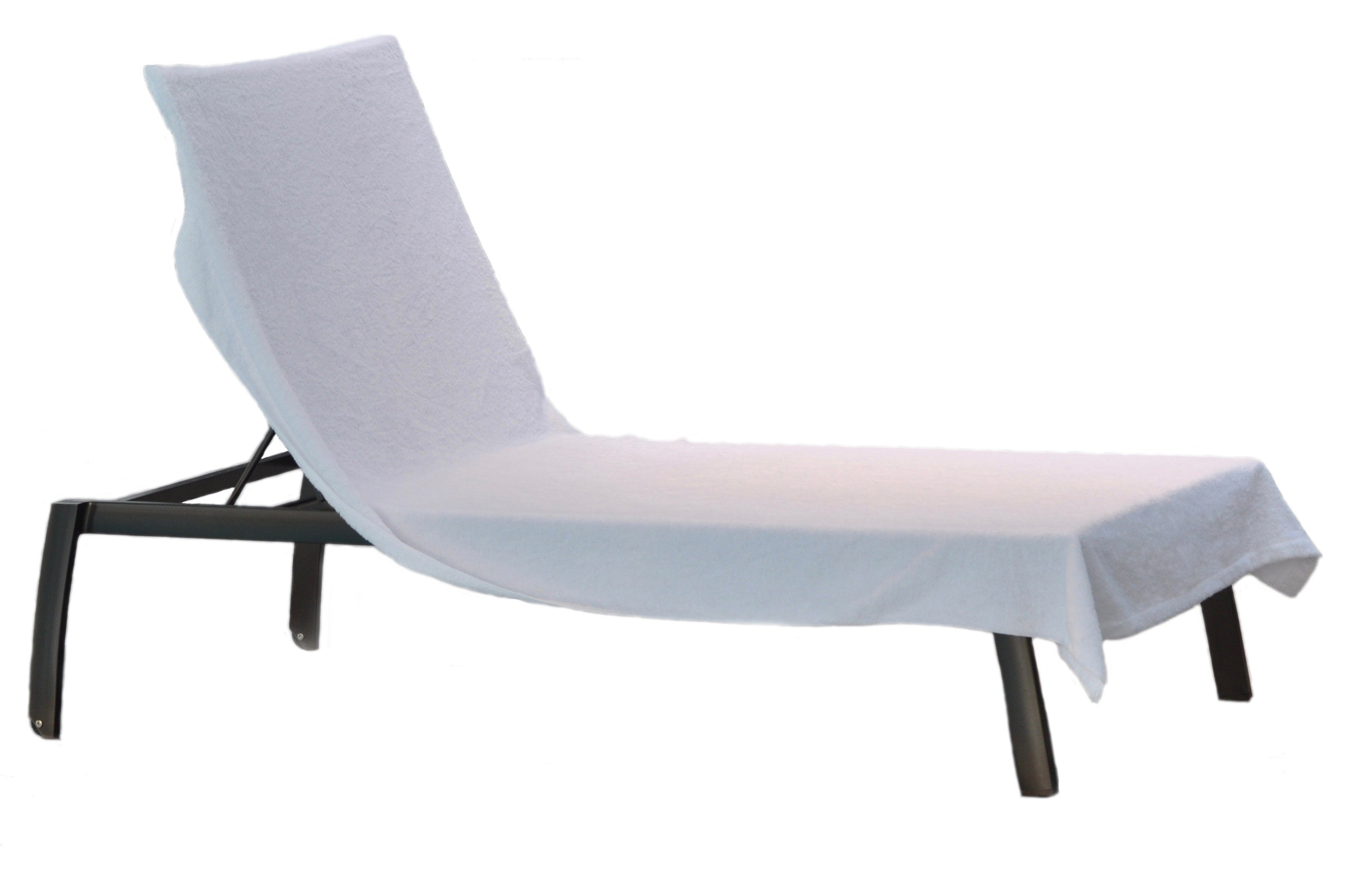 Astounding Caribbean Natural Royal Lounge Chair Cover Towel 90 X 40 100 Cotton White Caraccident5 Cool Chair Designs And Ideas Caraccident5Info