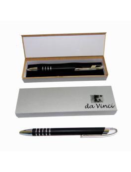 10 Misprint Retractable Matte Gray Metal Ballpoint Pens with Clip /& Stylus